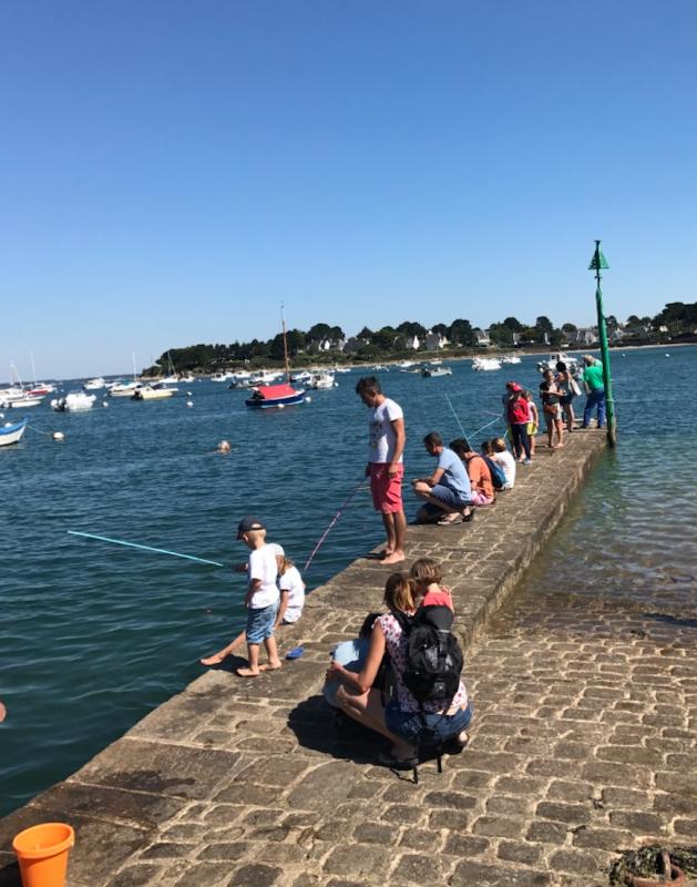 """ATELIER ENFANT """"Canne à pêche"""" - Arzon / Golfe du Morbihan (56) - JUILLET A NOVEMBRE 2021"""