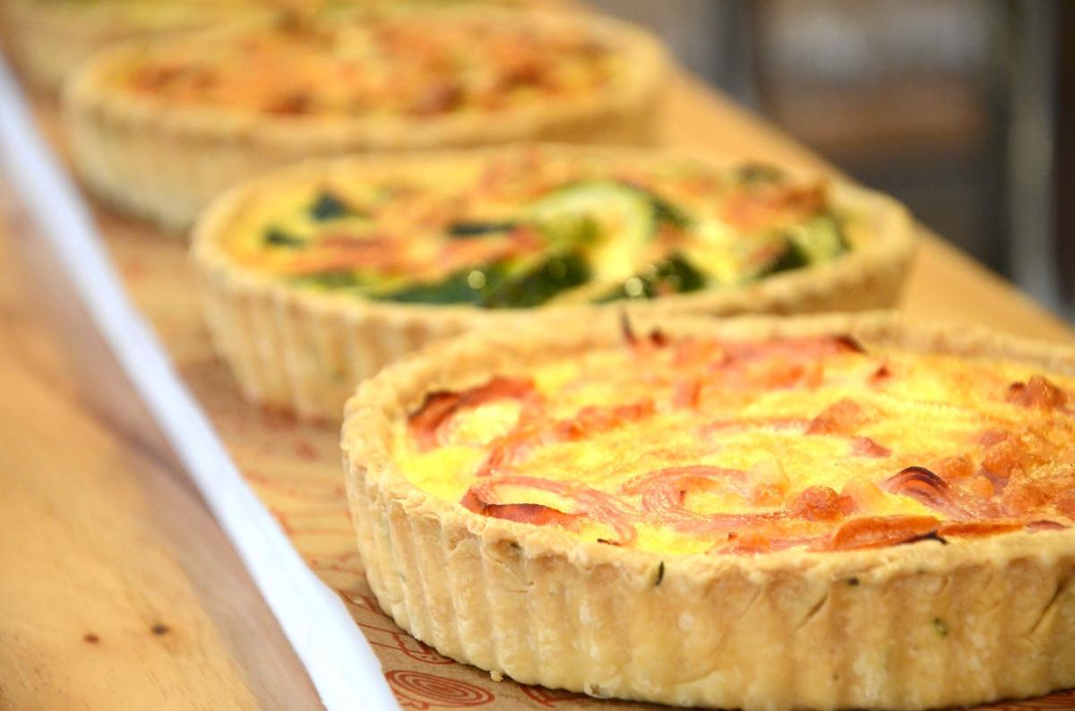 """Trilogie de tartes salées (sans gluten)"""" - Arzon / Golfe du Morbihan (56)"""